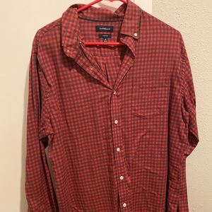 Long sleeved button down